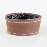 SUKI ボールラウンド 外径20cm ブラウン 【2個入り】/樹脂製ポット