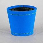 SUKI ラウンド 外径14.5cm ブルー 【2個入り】/樹脂製ポット