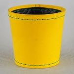 SUKI ラウンド 外径17.5cm イエロー 【2個入り】/樹脂製ポット