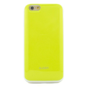 iPhone6/6s ケース カバー DESIGNSKIN SLIDER for iPhone6/6s  (Lime)