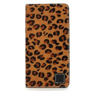 iPhone6/6s ケース 手帳 本革 Wetherby・Premium Black iPhone6 iPhone6s レザー 本革  (Fur Leopard)