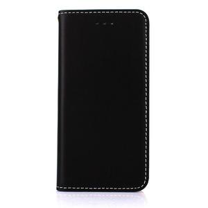 iPhone6/6s ケース 手帳 本革 Wetherby・Basic iPhone6 iPhone6s レザー 本革  (Black)