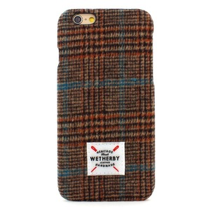 iPhone6s Plus アイフォン6s Plus ケース iPhone6 Plus カバー DESIGNSKIN Wetherby Tweed Bartype for iPhone6 Plus iPhone6s Plus ケ−ス カバー ツイード ハードケース アイフォンカバー (Brown)