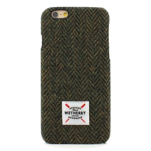 iPhone6s Plus アイフォン6s Plus ケース iPhone6 Plus カバー DESIGNSKIN Wetherby Tweed Bartype for iPhone6 Plus iPhone6s Plus ケ−ス カバー ツイード ハードケース アイフォンカバー (Khaki)