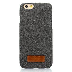 iPhone6  iPhone6S カバーDESIGNSKIN 15FW Bartype Melan (Gray)