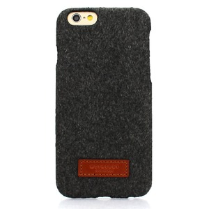 iPhone6  iPhone6S カバーDESIGNSKIN 15FW Bartype Melan (Dark Gray)