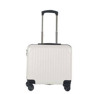 Sunruck スーツケース Sサイズ 機内持ち込み TSAロック付き SR-BLT021-WH ホワイト