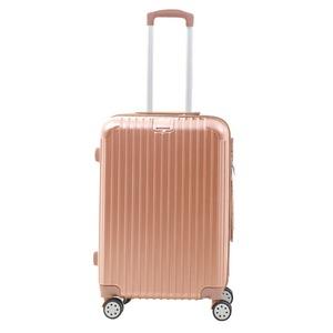 Sunruck スーツケース Mサイズ TSAロック付き 63L SR-BLT028-RGD ローズゴールド
