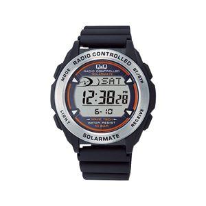ソーラーデジタル電波腕時計 MHS7-300