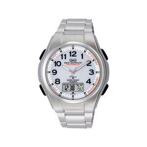 ソーラー電源電波腕時計 MD02-204