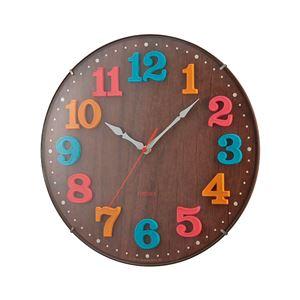 電波時計 エアリアル キッズ ブラウン W-618 BR