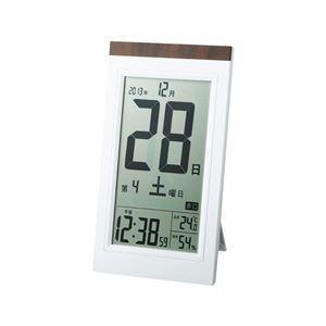 デジタル日めくり電波時計 KW9254