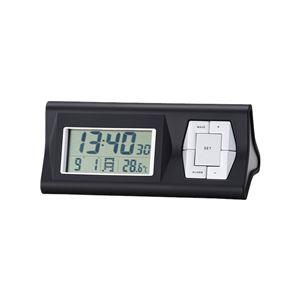 多機能電波時計(置時計/卓上時計) デジタル アラーム/カレンダー /温度表示付き ステーション 6133