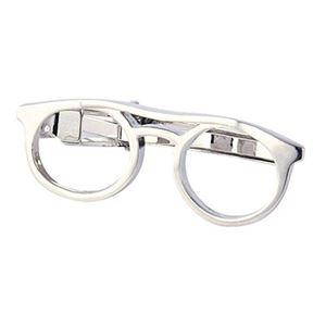 ネクタイピン メガネ 700-300