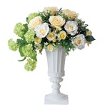 光の楽園【光触媒/人工観葉植物】53cm クリームカップ