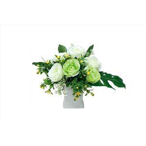 光の楽園【光触媒/アートフラワー/造花】グリーンソフト