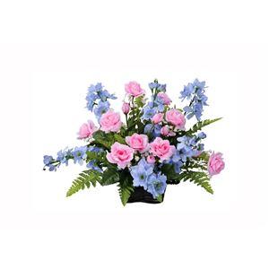 光の楽園【光触媒/アートフラワー/造花】アレンジフラワー 38cm