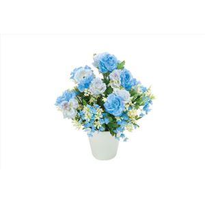 光の楽園【光触媒/アートフラワー/造花】アレンジフラワー 23cm