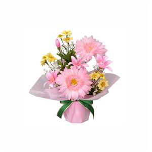 光の楽園【光触媒/アートフラワー/造花】アレンジフラワー 25cm