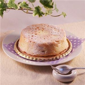 白いチーズケーキ 3台 (直径約12cm)