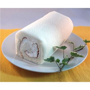 白いロールケーキ 1本