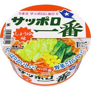 サッポロ一番 しょうゆ味どんぶり 12食分×3ケース(計36食)