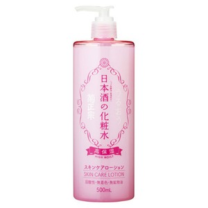 菊正宗 日本酒の化粧水(高保湿) 500ml 【3本】