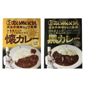 三代目たいめいけん茂出木浩司シェフ監修 懐カレー&黒カレーセット 計10食×2セット