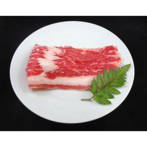 アメリカ産 牛カルビ スライス 【300g】 厚さ2mm 精肉 牛肉 〔ホームパーティー 家呑み バーベキュー〕