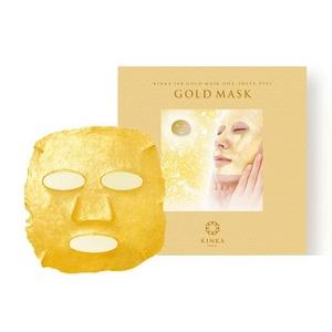 金華24K ゴールドマスク/金箔シートマスク 【1枚入り】 純金箔 フルフェイス 日本製