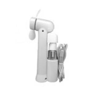 ミストスプレーファン ミスト機能付きハンディ扇風機 カラー:ホワイト