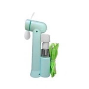 ミストスプレーファン ミスト機能付きハンディ扇風機 カラー:グリーン