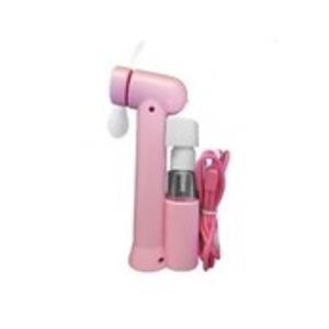 ミストスプレーファン ミスト機能付きハンディ扇風機 カラー:ピンク
