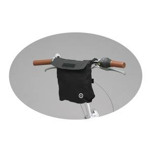 20インチキャリーバッグ(自転車用取り付けバッグ) 【OptionParts】 ブラック(黒) 〔自転車パーツ/アクセサリー〕