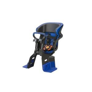 ヘッドレスト付きフロント子供乗せ(自転車用チャイルドシート) 前用 【OGK】FBC-011DX3 ブラック(黒)/ブルー(青)