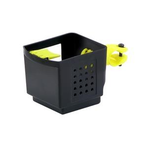 ドリンクホルダー 【OGK】 PBH-003 ブラック(黒)&イエロー(黄) 〔自転車パーツ/アクセサリー〕