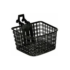 ATB/クロスバイク用バスケット(自転車カゴ) 脱着可 【OGK】FB-022X ブラック(黒) 〔自転車パーツ/アクセサリー〕
