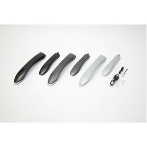 ATB用フェンダー(泥除け) 【OGK】 MF-018 ガンメタ 〔自転車パーツ/アクセサリー〕