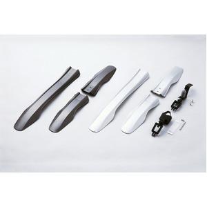 ATB用フェンダー(泥除け) 【OGK】 MF-015 パールシルバー(銀) 〔自転車パーツ/アクセサリー〕