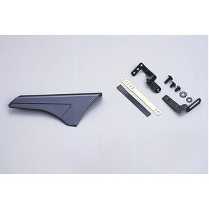 ATBチェーンカバー コンパクトサイズ 【OGK】 MG-001 ガンメタ 〔自転車パーツ/アクセサリー〕