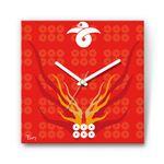 六連銭・真田幸村 戦国ファブリック掛時計
