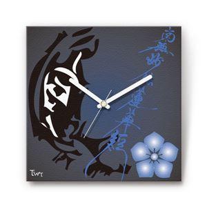 虎退治・加藤清正 戦国ファブリック掛時計