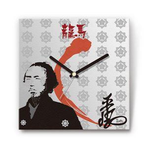 海援隊・坂本龍馬 戦国ファブリック掛時計