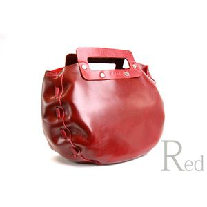 ★dean(ディーン) bowling bag ハンドバッグ 赤