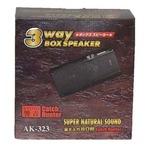 カー用3WAY据え置き(BOX)スピーカー AK-323