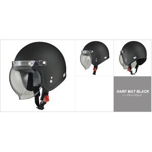 MOUSSE (ムース) ジェットヘルメット ハーフマットブラック