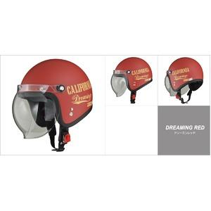 MOUSSE (ムース) ジェットヘルメット ドリーミンレッド