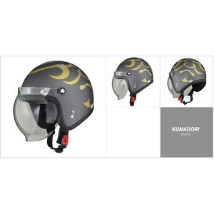 MOUSSE (ムース) ジェットヘルメット クマドリ