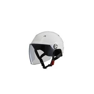 SERIO(セリオ) RE-40 シールド付きハーフヘルメット ホワイト