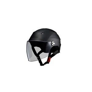 SERIO(セリオ) RE-40 シールド付きハーフヘルメット マットブラック
